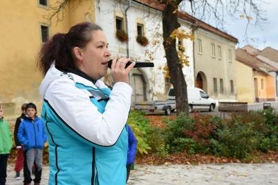 Beh detí ulicami mesta Spišské Vlachy [26.10.2016]
