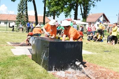 Hasičská súťaž o pohár primátora mesta Spišské Vlachy [18.06.2016]