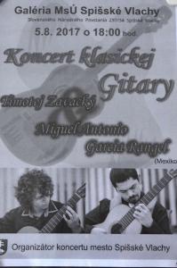 Koncert klasickej gitary [05.08.2017]