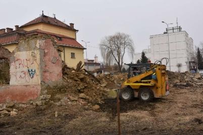 Búranie domu pri KD [15.05.2017]