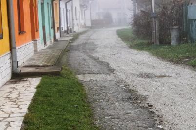 Oprava časti ciest ul. Jilemnického a Kostolná [06.01.2014]