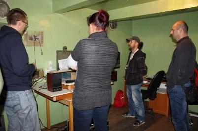 Práce v KD spojené s prevádzkou kina [26.10.2017]