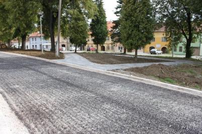 Rekonštrukcia Požiarnickej ulice [10.10.2012]
