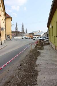 Rekonštrukcia ulíc - SNP, Jilemnického a Hviezdoslavova [19.08.2017]