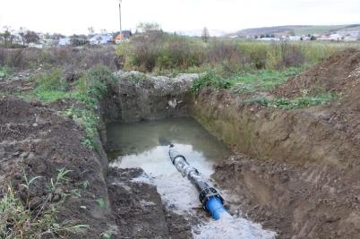 Výmena vodovodného potrubia [21.09.2016]